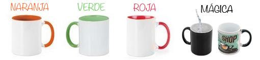 tazas personalizadas de colores