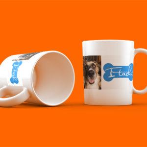 mascotes gos tassa personalitzada toda imagen